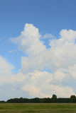 Nubes blancas Foto de archivo libre de regalías