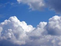 Nubes blancas Fotografía de archivo libre de regalías