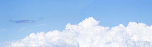 Nubes blancas fotografía de archivo