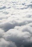 Nubes blancas hinchadas suaves del caramelo de algodón Imágenes de archivo libres de regalías