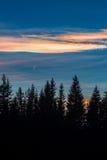 Nubes brillantes Fotografía de archivo