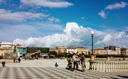 Nubes cerca del mar fotos de archivo libres de regalías