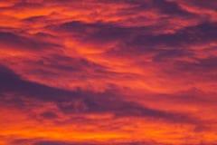 Nubes coloridas Fotos de archivo