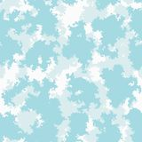 Nubes coloridas fondo, modelo inconsútil del papel pintado del cuarto de niños, vector del sitio lindo del bebé Libre Illustration