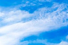 Nubes con el cielo imagen de archivo