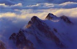 Nubes crecientes Imágenes de archivo libres de regalías