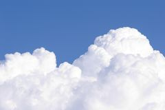 Nubes de cúmulo # 1 Imagenes de archivo