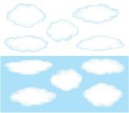 Nubes de cúmulo libre illustration