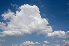 Nubes de cúmulo Foto de archivo libre de regalías