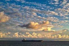 Nubes de cúmulo Imagen de archivo libre de regalías