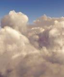 Nubes de cúmulo de la alta altitud Imagen de archivo libre de regalías