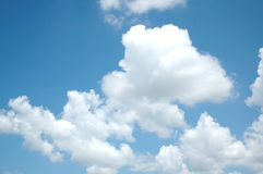 Nubes de cirro Foto de archivo