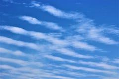 Nubes de cirro Fotos de archivo