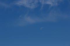 Nubes de cirro Foto de archivo libre de regalías