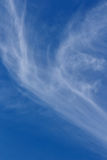 Nubes de cirro Imagen de archivo