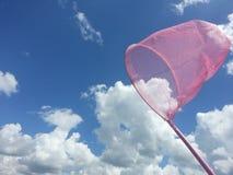 Nubes de cogida Foto de archivo libre de regalías