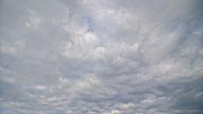 Nubes de cumulonimbus almacen de video