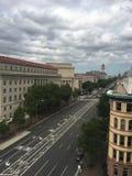 Nubes de DC Fotos de archivo libres de regalías