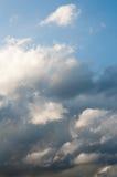 Nubes de Fractus Imagen de archivo libre de regalías