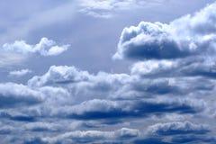 Nubes de fuertes lluvias Fotografía de archivo libre de regalías