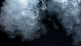 Nubes de humo Imágenes de archivo libres de regalías
