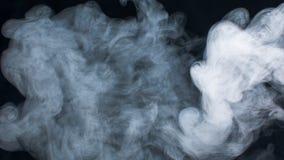 Nubes de humo Foto de archivo libre de regalías