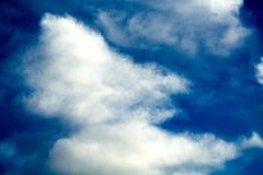 Nubes de la acuarela Foto de archivo libre de regalías
