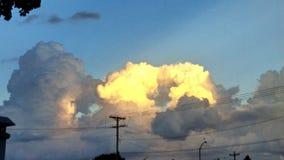 nubes de la belleza Imagen de archivo