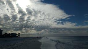 Nubes de la caballa Imagenes de archivo