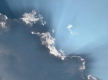 Nubes de la fe Fotografía de archivo