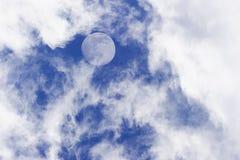 Nubes de la luna Imagenes de archivo