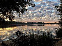 Nubes de la mañana Imagen de archivo libre de regalías