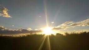 Nubes de la mañana Fotos de archivo libres de regalías