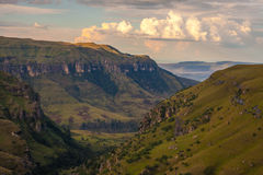 Nubes de la montaña Imagen de archivo