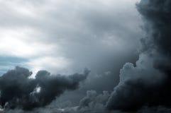 Nubes de la monzón Foto de archivo