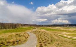 Nubes de la primavera Fotografía de archivo
