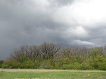 Nubes de la primavera Imágenes de archivo libres de regalías