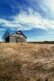 Nubes de la primavera sobre los campos Fotos de archivo libres de regalías