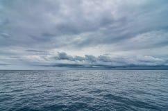 Nubes de la tempestad de truenos Imagen de archivo