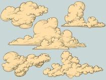 Nubes de la vendimia
