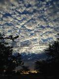 Nubes de las palomitas Fotos de archivo libres de regalías