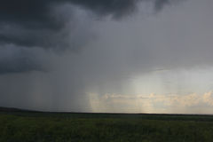 Nubes de lluvia imagenes de archivo