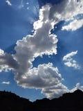 Nubes de Magestic Fotografía de archivo