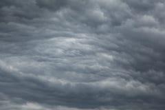Nubes de Stratocumulus Imagen de archivo