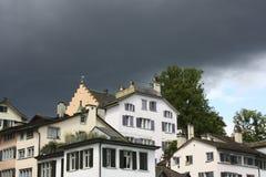 Nubes de Stromy imagen de archivo libre de regalías