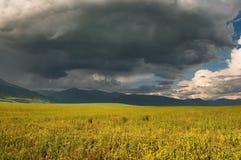 Nubes de tormenta Foto de archivo