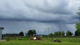 Nubes de tormenta Foto de archivo libre de regalías