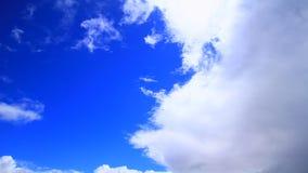 Nubes de tormenta almacen de metraje de vídeo