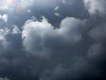 Nubes de tormenta en Francia Fotos de archivo