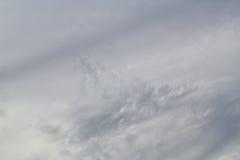 Nubes de tormenta grises Imágenes de archivo libres de regalías